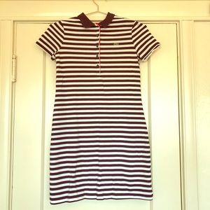 Lacoste classic shirt dress